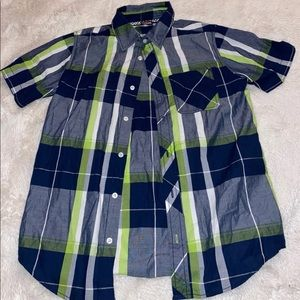 button down hawk shirt